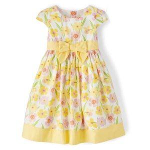 NWT • Gymboree Floral Print Poplin Dress • size 2T